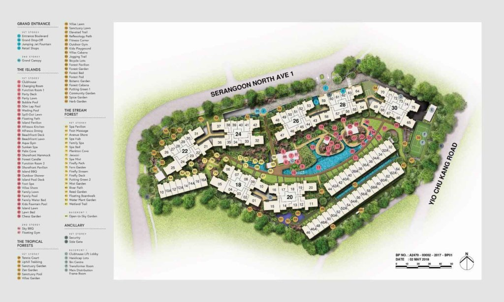 affinity-at-serangoon-condo-site-plan